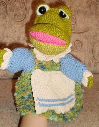 Вязание и шитье театральных кукол игрушек