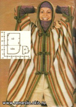 Вязание на спицах жилет квадрат