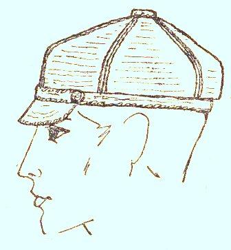 Мужские вязаные кепки, фуражки, кепи крючком